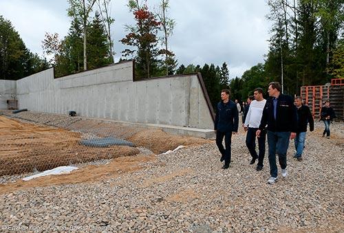 В Пересвете до конца года построят биатлонный комплекс и восстановительный центр