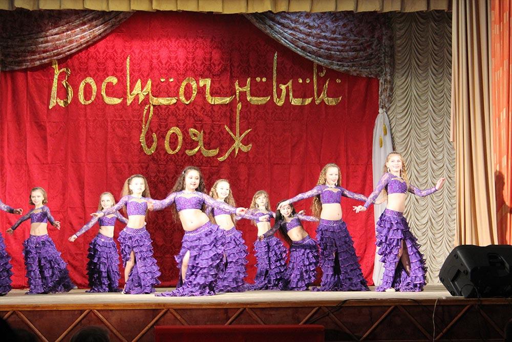 Второй фестиваль восточных танцев «Восточный вояж» прошел в Пересвете